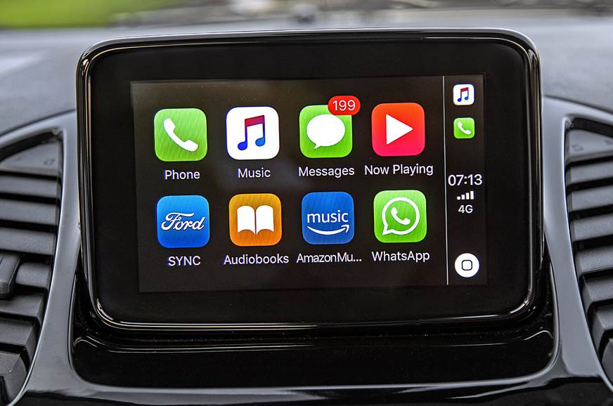 2018 Ford Aspire infotainment