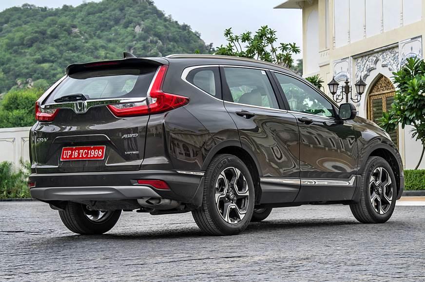 Honda CR-V rear static