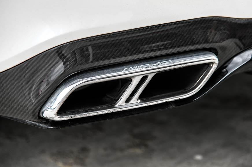 2018 Mercedes-AMG E 63 S exhaust