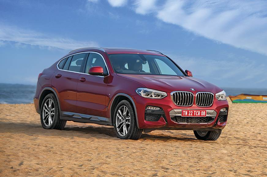 2019 BMW X4 front static