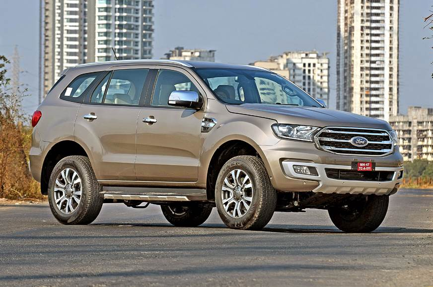 2019 Ford Endeavour facelift front static