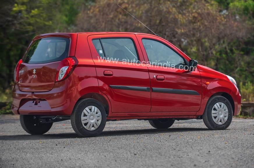 Maruti Alto rear static