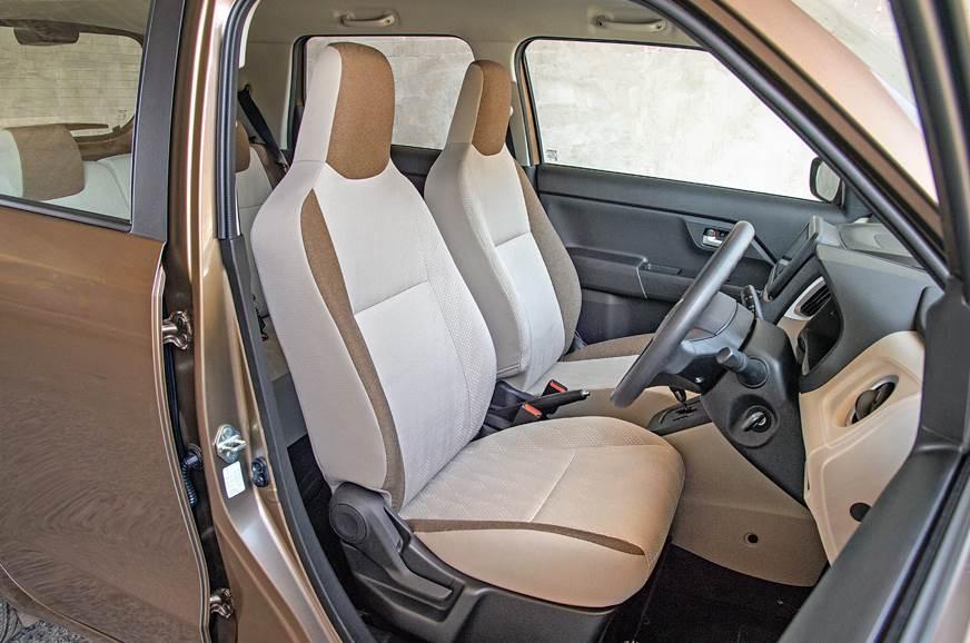 2019 Maruti Suzuki Wagon R front seats
