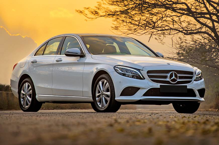 2019 Mercedes-Benz C 200 front static