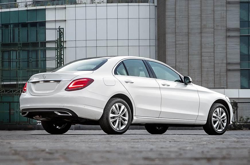 2019 Mercedes-Benz C 200 rear static