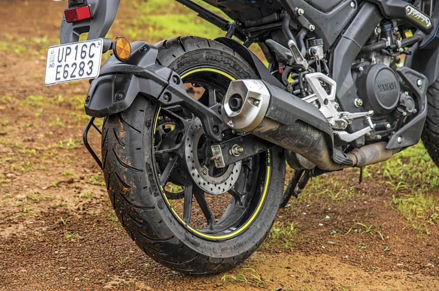 Yamaha-MT15-tyre