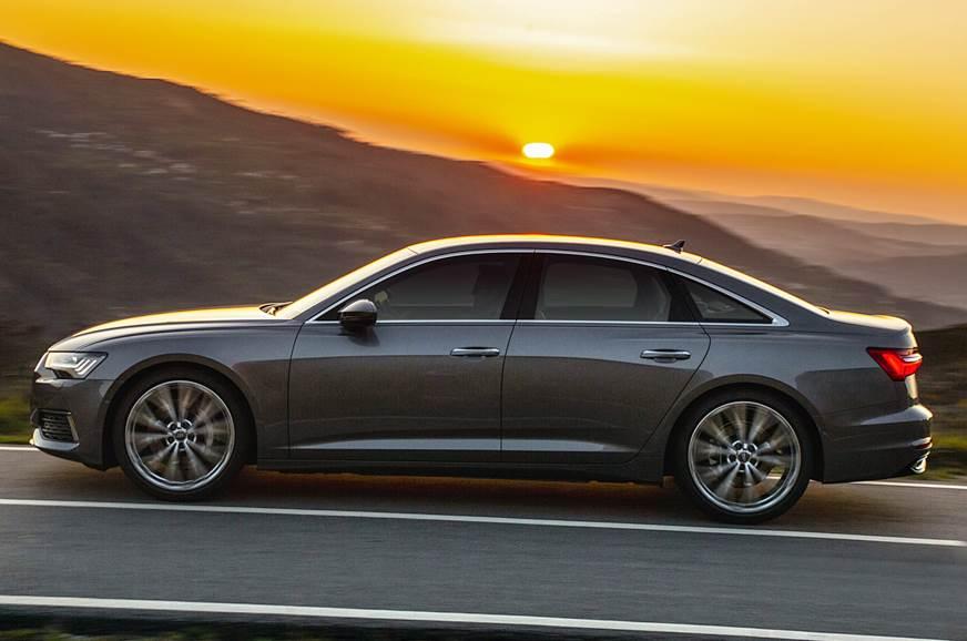 Audi A6 side action