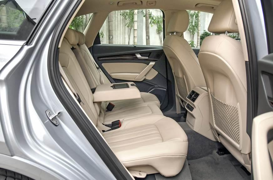 Audi Q5 45 TFSI rear seat