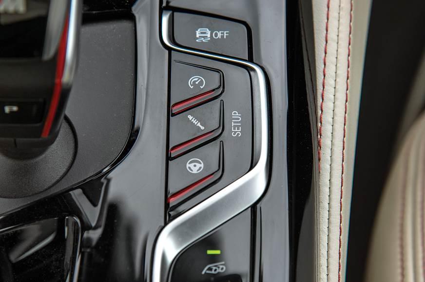 2018 BMW M5 settings