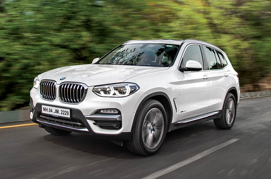 BMW X3 front action