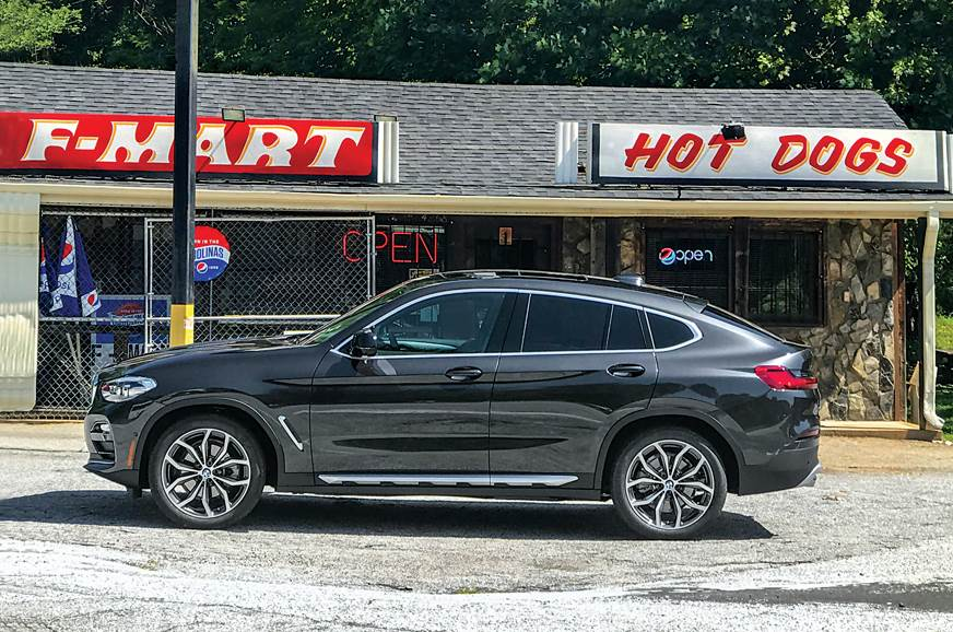 BMW X4 side static