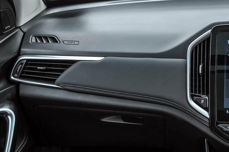 MG Hector dashboard