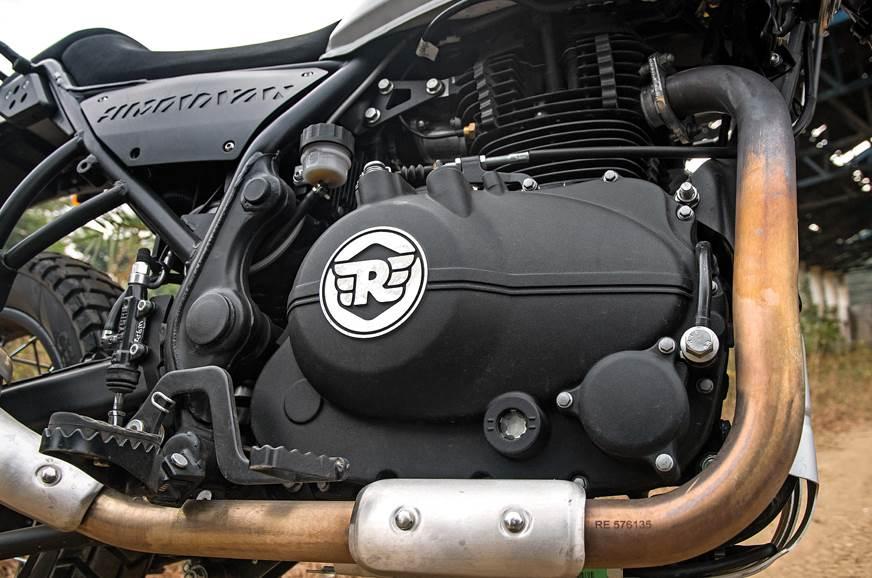 Royal Enfield Himalayan engine