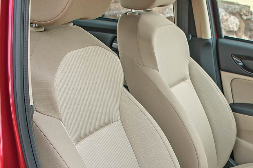 Honda Amaze seats
