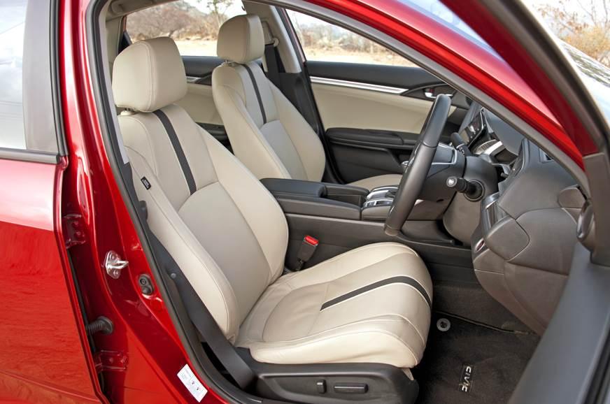 2019 Honda Civic front seat