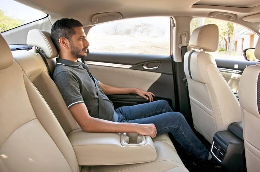 2019 Honda Civic rear seat