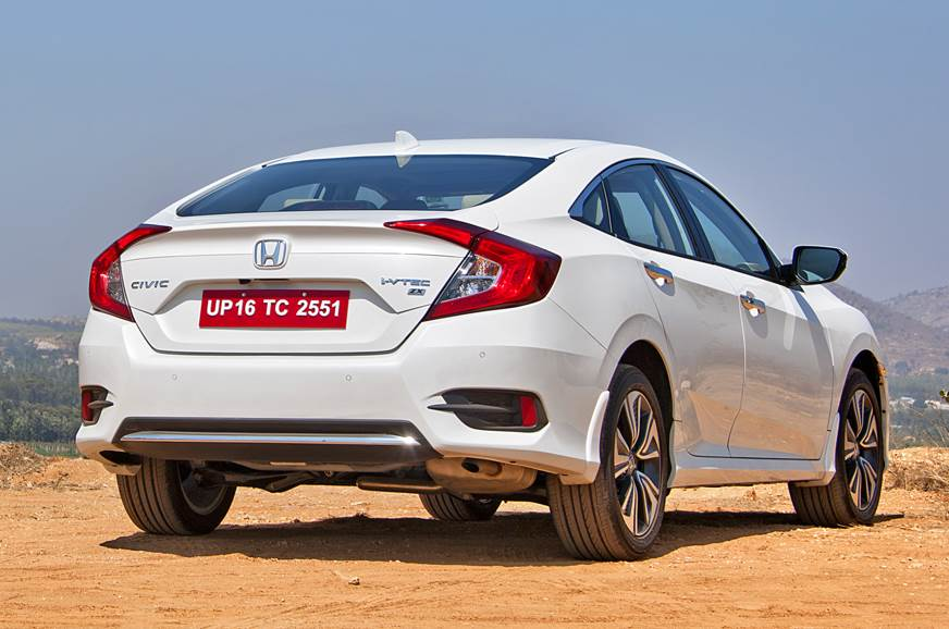 2019 Honda Civic rear static
