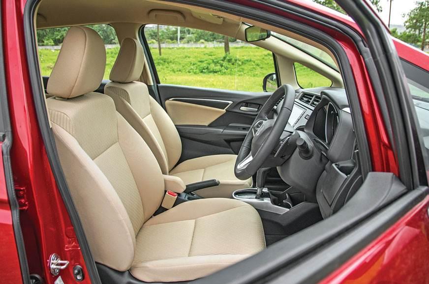 Honda Jazz front seats