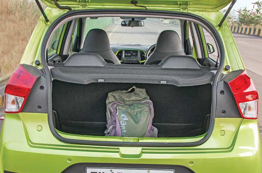 Hyundai Santro boot