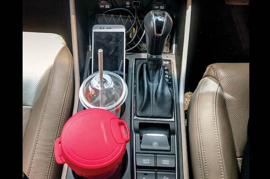 Hyundai Tucson long term review console