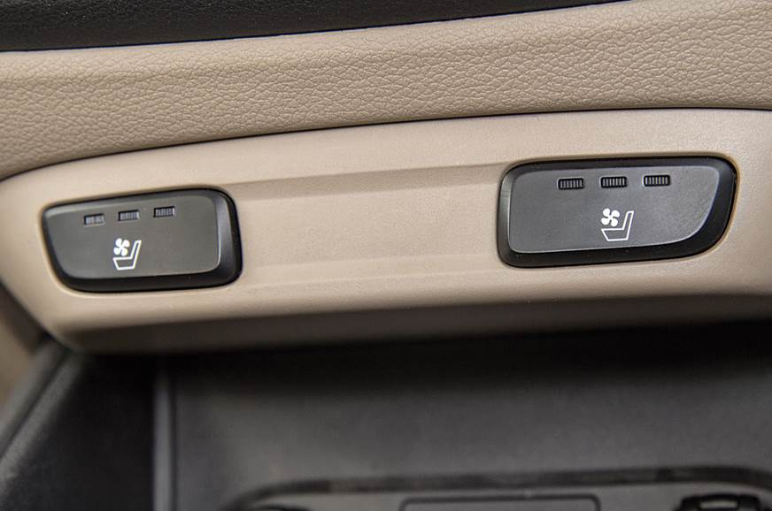 Hyundai Verna ventilated seats