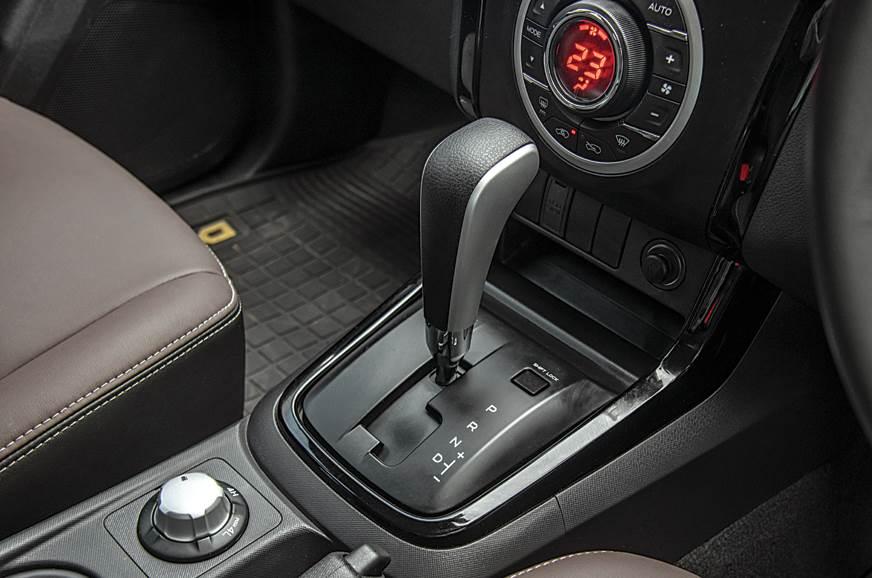 Isuzu D-Max V-Cross automatic gearbox