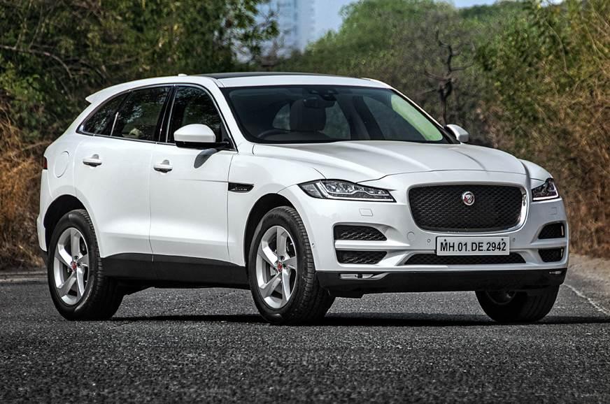 Jaguar F-Pace petrol front static