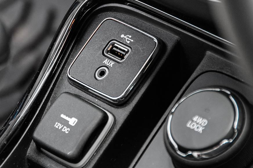 Jeep Compass USB