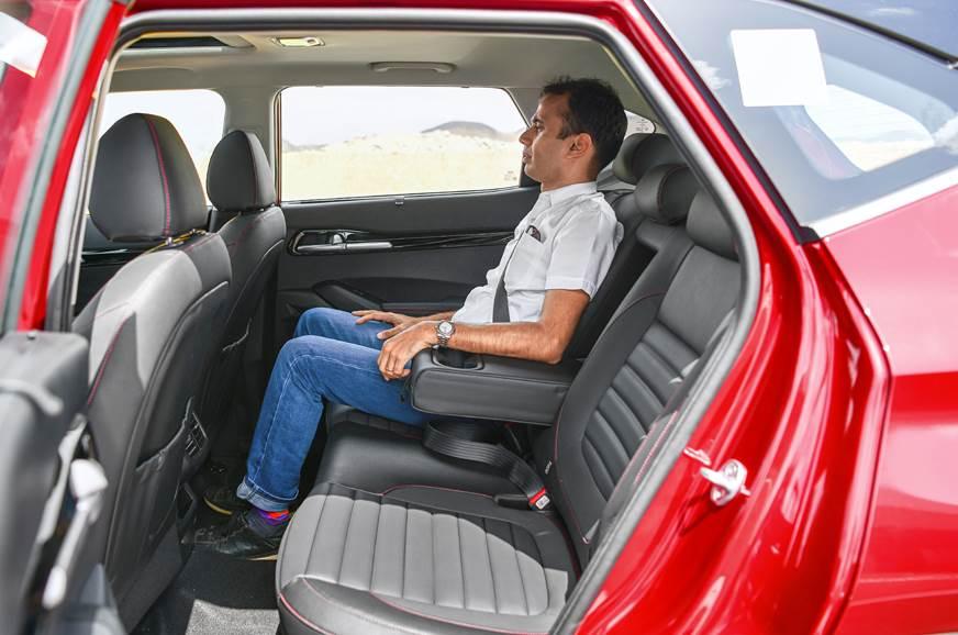 Kia Seltos rear seats