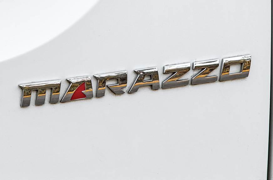 Mahindra Marazzo badge