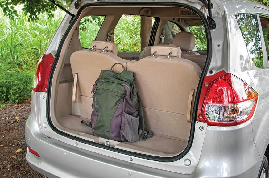 Maruti Suzuki Ertiga boot