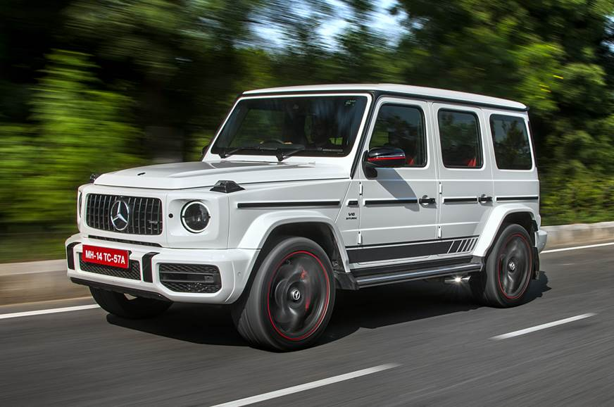 2018 Mercedes-AMG G 63 front action