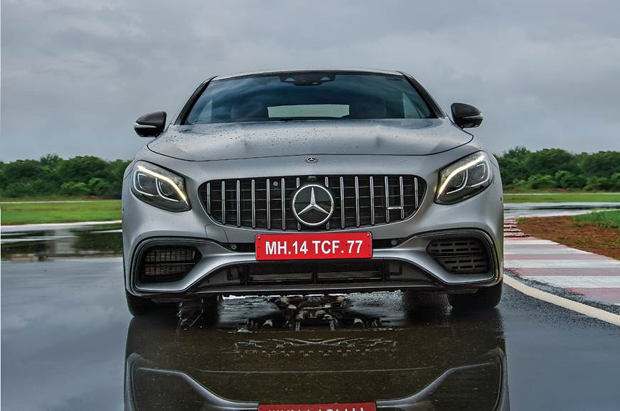 Mercedes-AMG S 63 Coupe front static