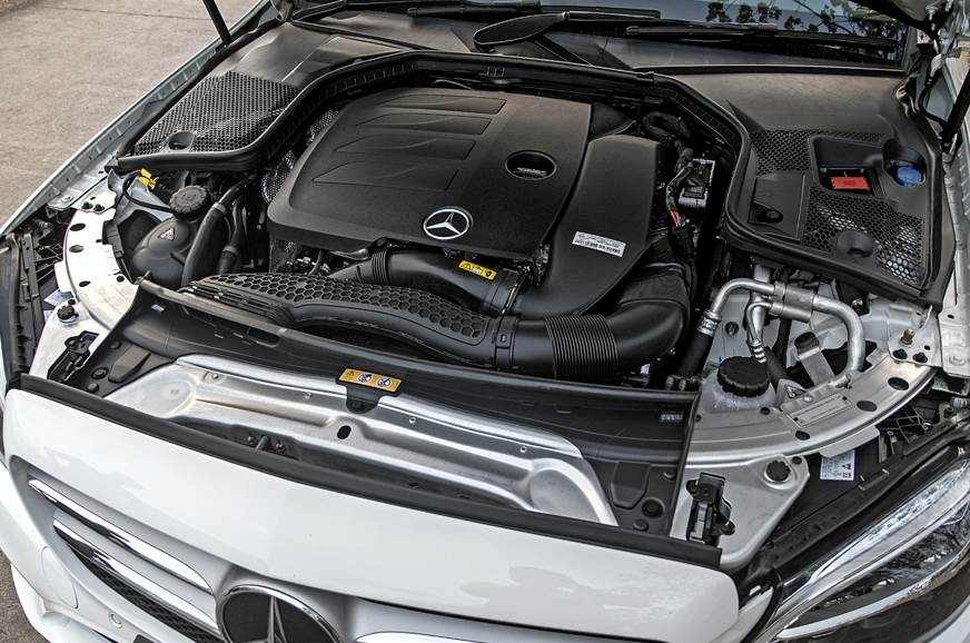 2019 Mercedes-Benz C 200 petrol engine