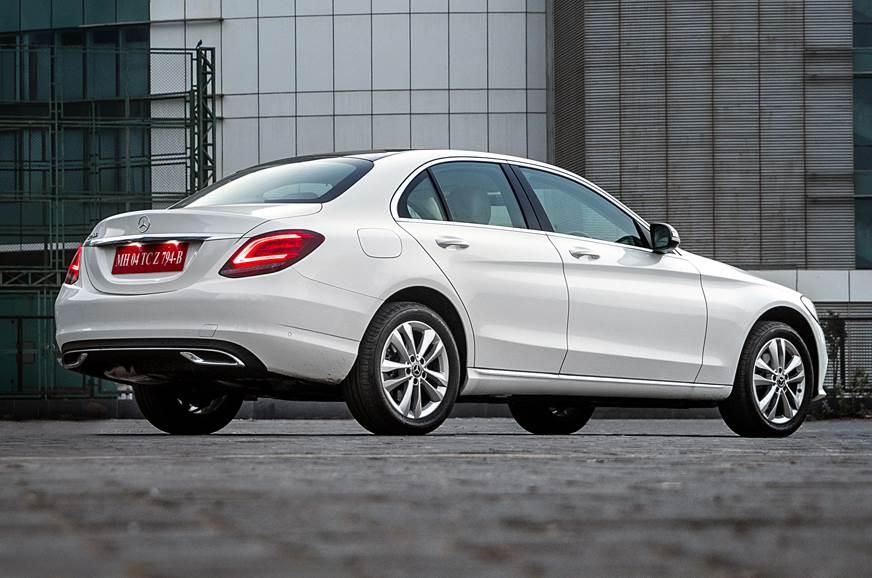 2019 Mercedes-Benz C 200 petrol rear static