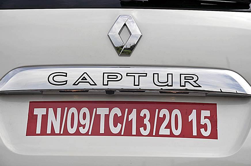 Renault Captur detail