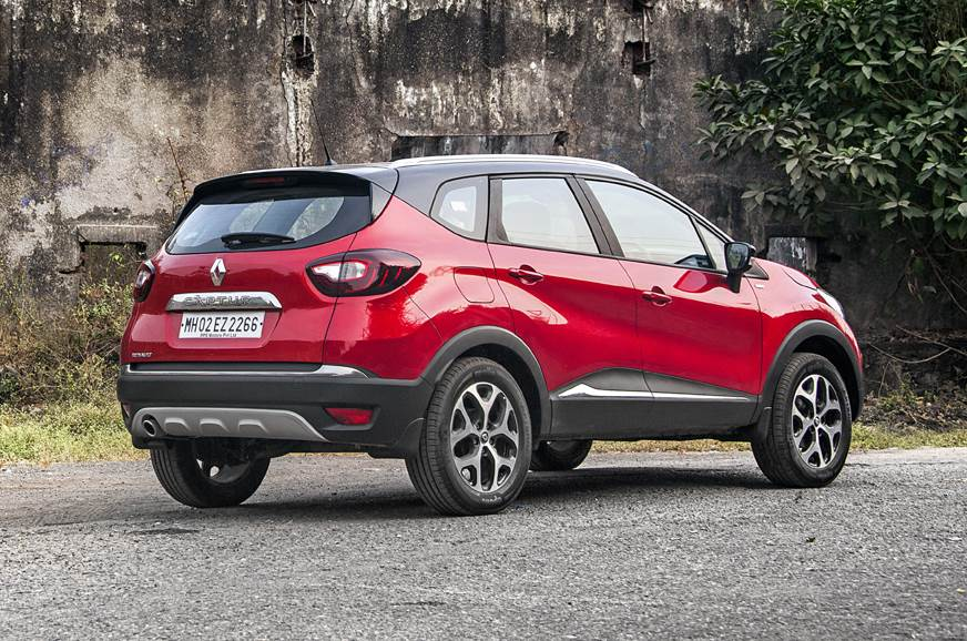 Renault Captur rear static