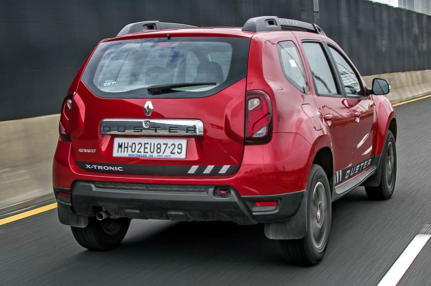 Renault Duster CVT rear action