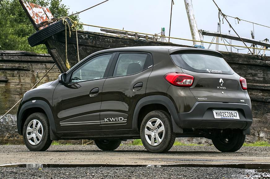 2018 Renault Kwid AMT rear static