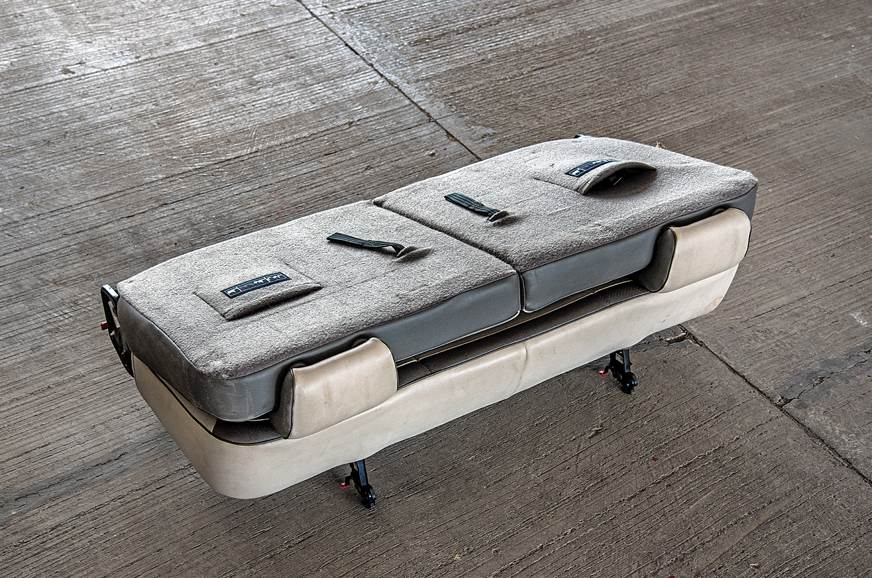 Renault Lodgy rear seats out