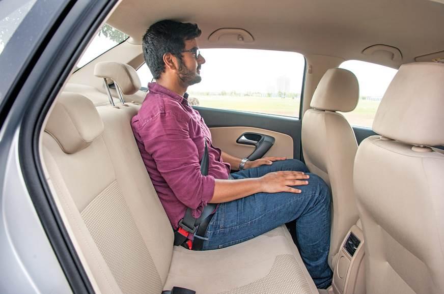 Volkswagen Ameo rear seats