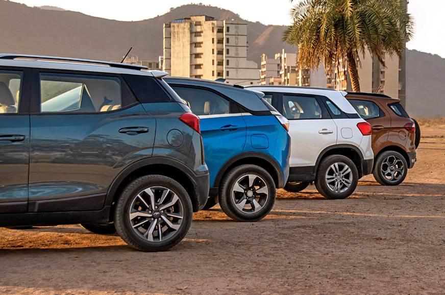 Mahindra XUV300 vs Ford EcoSport vs Tata Nexon vs Maruti Suzuki Vitara Brezza