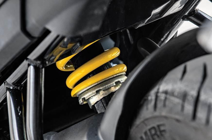 Yamaha FZ25 suspension
