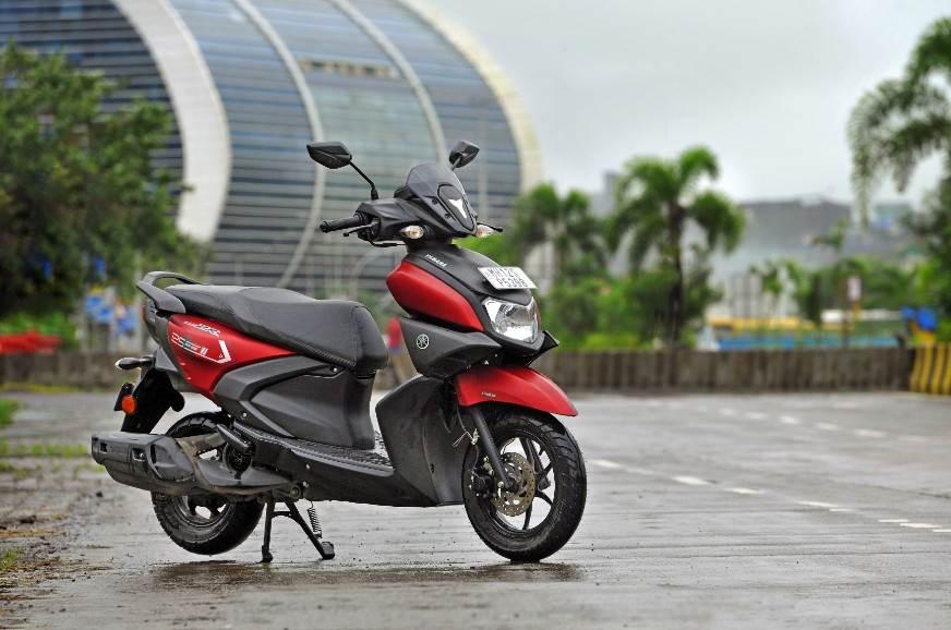 Yamaha-Ray-ZR125-front