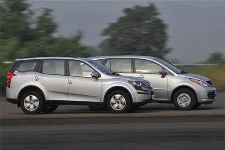 Mahindra XUV500 vs Tata Aria
