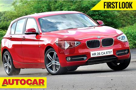 New BMW 1-series video review