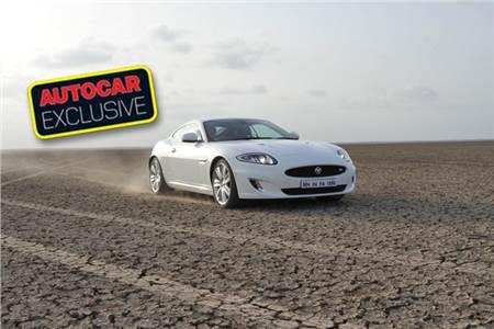 Jaguar XKR drive in Rann of Kutch