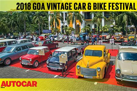 2018 Goa Vintage Car & Bike Festival video