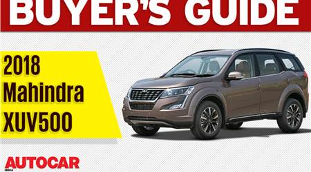 2018 Mahindra XUV500 buyer's guide video