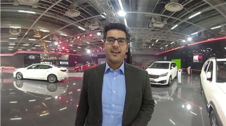 360 VR tour of Kia's AutoExpo Pavilion